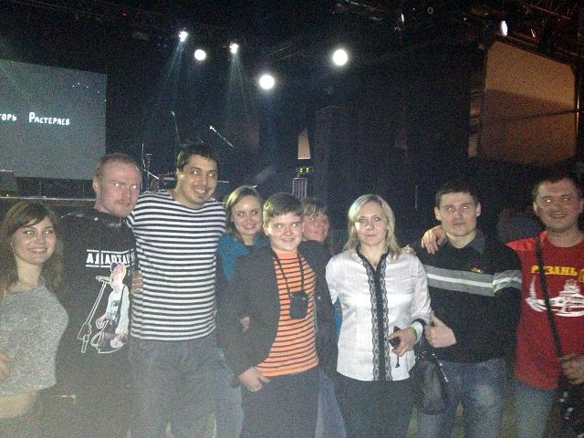 Концерт в Milk Moscow